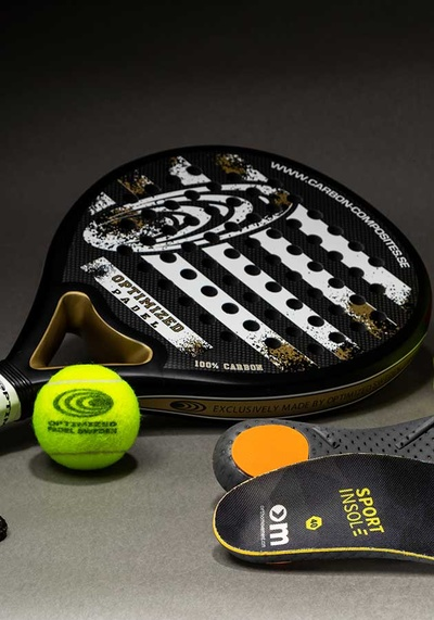 Partners up with the Swedish padel